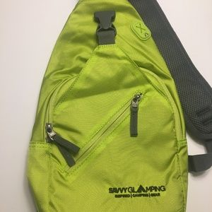 NWOT Savvy Glamping Sling Backpack